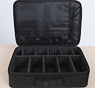 Makeup Storage Cosmetic Bag / Makeup Storage Others Solid 40*29*14 Black