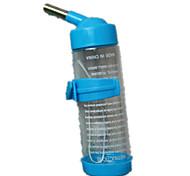 Chien Bols & Bouteilles d'eau Animaux de Compagnie Bols & alimentation Décontracté / Quotidien Vert / Bleu / Rose / Jaune Plastique