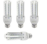 9W E26/E27 LED a pannocchia T 48 SMD 2835 750 lm Bianco caldo / Luce fredda Decorativo V 4 pezzi