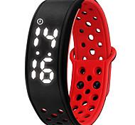 NONE Smart Bracelet Etanche Longue Veille Calories brulées Pédomètres Sportif Fonction réveille Vestimentaire iOS Android