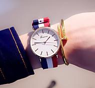 Женские Модные часы Повседневные часы Цветной / Кварцевый Материал Группа Повседневная Синий