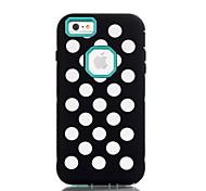 Para Agua / Polvo / prueba del choque Funda Cubierta Trasera Funda Un Color Dura Policarbonato para AppleiPhone 6s Plus/6 Plus / iPhone