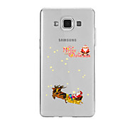 For Samsung A9(2016)A9 Pattern Case Back Cover Case Christmas Sled Soft TPU for Samsung A9(2016) A7(2016) A5(2016) A3(2016) A9 A8 A7 A5 A3
