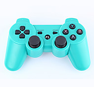 de doble choque controlador 3 bluetooth sin hilos para ps3