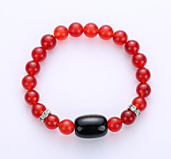 Europe And The United States Natural Stone Emperor Volcanic Handmade Beaded Beads Bracelet Fashion Bracelet Multi-Color Foreign Trade