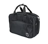 Makeup Storage Cosmetic Bag / Makeup Storage Nylon Solid 37*27*16 Black