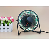 Novità UF-240-07 130cm Clock Fan with Floating LED Time Display  145*168*115 Nero