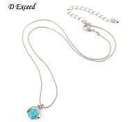 Little Girls Silver Tiny Smile Face Enamel Ball Chain Alloy Pendant Necklace XL0106