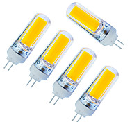 Jiawen Pack 5pcs COB LED light Bulb Epistar Chip 3W AC 220V High Brightness