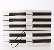 Travel Passport Holder & ID Holder Waterproof / Dust Proof / Portable Travel Storage PVC The Piano Keys
