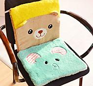 Creative Cute  Animal Mat Cushion  Cartoon Plush Cushion Cushion Thickness  Office Computer Chair Cushion  (Random Colour)