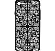 Для Рельефный / С узором Кейс для Задняя крышка Кейс для Кружевной дизайн Твердый PC для Apple iPhone 7 Plus / iPhone 7