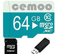 Other 64GB MicroSD Clase 10 20 Other Múltiple en un lector de tarjetas / lector de tarjetas micro sd / lector de tarjetas SD CETY02USB