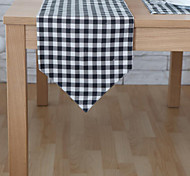 Rectangular Patterned / Geometric Table Runner , Cotton Blend Material Hotel Dining Table / Table Decoration
