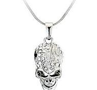 Муж. Женский Ожерелья с подвесками В форме черепа Сплав Мода По заказу покупателя Бижутерия Назначение Повседневные