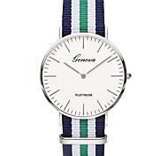 Жен. Модные часы Кварцевый / Цветной Материал Группа Повседневная минималист Синий