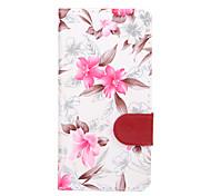 For Sony Sony Xperia Z3 Mini / Sony Xperia Z3 / Sony Xperia M2 / Sony Xperia M4 / Sony Xperia E4 Flowers PU Leather Case