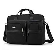 borsa a tracolla portatile multi-vano 17,3 pollici del panno di Oxford impermeabile con cinturino notebook borsa a mano per Dell / HP /