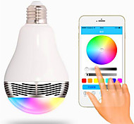RGB Senza fili Others Wireless Bluetooth 4, colorful dimming LED lights Bianco