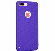 For Apple iPhone 7 Plus 7 Ultra-thin Case Back Cover Case Lines Waves Soft Silicone