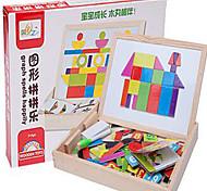 Magnet Toys 1 Magnet Toys Educational Toy Jigsaw Puzzle Novelty Executive Toys Puzzle Cube DIY Toys Magnetic Balls Rainbow Education Toys