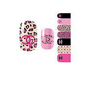 14PCS Nail Art Stickers A Series YM1017
