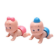 Wind-up Toy Novelty Toy Toys Novelty Plastic Blue Pink For Boys For Girls Random Color