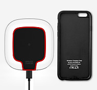 Qi Standard mindzo Wireless Charger Kit Touch Control Light Perfect Fit Made for iPhone 6 iPhone 6s