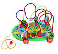 Stress Relievers / Educational Toy Novelty Toy Toys Novelty Circular / Car Wood Rainbow For Boys / For Girls