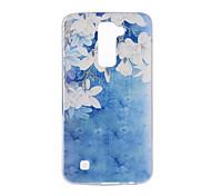 For LG V20 V10 K10 K8 K7 G5 G4 G3 Case Cover Flower Pattern Back Cover Soft TPU