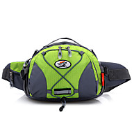 5 L Waist Bag/Waistpack Camping & Hiking Fishing Traveling Outdoor Multifunctional Yellow Nylon