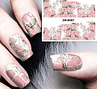 Fashion Printing Pattern Transfer Printing Nail Stickers