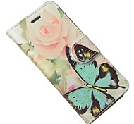 For Samsung Galaxy Grand Prime G530 Case Cover Butterfly Leather Full Body Cover with Card and Stand Case Galaxy S Advance I9070