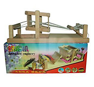 Tue so als ob du spielst / Bildungsspielsachen Freizeit Hobbys Spielzeuge Neuartige Quadratisch Holz Grau Für Jungen / Für Mädchen