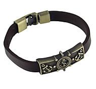 European Style Wide Pu Leather Wrap Bracelet Jewelry