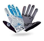 Gloves Sports Gloves Unisex Cycling Gloves Spring Autumn/Fall Winter Bike Gloves Shockproof Breathable Wearproof Full-finger Gloves Lycra
