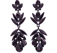 Earrings Crystal Simulated Diamond Alloy Fashion Jewelry Daily 1pc