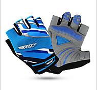 Gloves Sports Gloves Unisex Cycling Gloves Summer Bike Gloves Shockproof / Breathable / Wearable / Moisture Permeability Fingerless Gloves