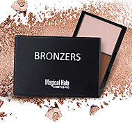 Powder Concealer/Contour Highlighters/Bronzers Pressed Powder Mineral Oil-control Concealer Natural Pore-Minimizing Breathable Brightening