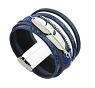 Женский Кожаные браслеты Дружба бижутерия Бижутерия Бижутерия Бижутерия Назначение Повседневные