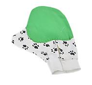 Cat Dog Cleaning Brush Baths Massage Green