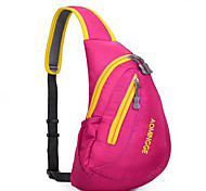 Sling & Messenger Bag Shoulder Bag Chest Bag for Climbing Cycling/Bike Running Traveling Sports Bag Waterproof Shockproof Breathable