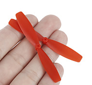 40PCS Red 60mm UAV Quadrocopter Accessories Propeller Blades for Fixed-wing Racing QX90 Drone Aircraft Coreless Motor