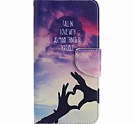 For Google Pixel XL Pixel Case Cover Love Hand Painted PU Phone Case