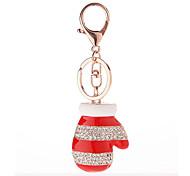 Key Chain Key Chain / Diamond Red / Silver Metal