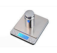 Kitchen jewelry scale Kitchen scale baking Large tray I2000 pocket said