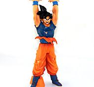 Figuras de Ação Anime Inspirado por Dragon ball Goku Anime Acessórios de Cosplay figura Laranja PVC