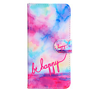For Apple iphone6s iphone6s Plus iphone6 iphone6 plus The Happy Font Pattern PU Leather Case