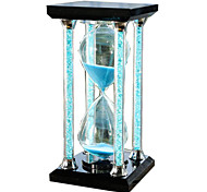 Toys For Boys Discovery Toys Hourglasses Square Glass White Green Blue Pink Purple