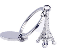 Key Chain Triangle Key Chain Titanium Metal